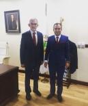 BÜROKRASI - Akil Gençler Genel Başkanı Ateş, Orman Genel Müdürü Karacabey'i Ziyaret Etti