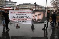 ŞEHİT KOMUTAN - Basayev'i Yağmur Altında Anıldı