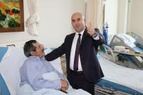 ERHAN ÖZDEMIR - Başkan Altun, Hastaneyi Ziyaret Etti
