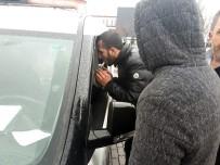 HACETTEPE HASTANESİ - Başkent'te Trafik Kazası Açıklaması 2 Yaralı
