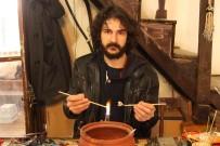 CEM KILIÇ - Cam Sanatına Gönül Verdi, Mesleğini Değiştirdi
