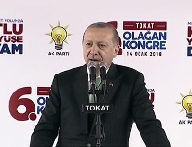 Erdoğan: Terörden arındırma operasyonunu Afrin'le devam ettireceğiz