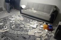 Evin Tavan Alçısı Çöktü Açıklaması 3 Yaralı