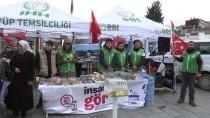 İSLAM - Eyüpsultan'da Kudüs'e Destek İçin 'Hayır Çadırı'