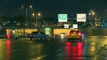 AVRASYA TÜNELİ - Fatih'te Şüpheli Aracın Ateş Edilerek Durdurulması