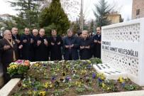 SELÇUK ECZA DEPOSU - Hayırsever İşadamı Dr. Ahmet Keleşoğlu Mezarı Başında Anıldı