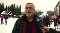 BATı KARADENIZ - Ilgaz Dağı'nda Hafta Sonu Yoğunluğu