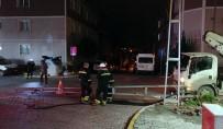 ORMANLı - İstanbul'da Vinç Yüksek Gerilim Hattına Takıldı