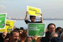 OSMAN BUDAK - Konyaaltı Sahil Projesi Protesto Edildi