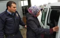 POLİS MERKEZİ - Marketen Hırsızlık Yapan Iraklı Kadın Gözaltına Alındı