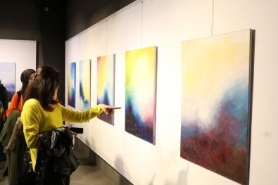'Mistik İzlenimler' İsimli Resim Sergisi Sanatseverler İle Buluştu