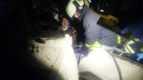 Otomobil Şarampole Yuvarlandı Açıklaması 1 Ölü, 5 Yaralı