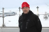 KAYAK SEZONU - Rus Turistler Erciyes'ten Memnun Ayrıldı