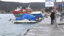 BÜYÜKDERE - Sarıyer'de Sahile Korkuluk Yapılması İçin Eylem