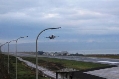 Trabzon Havalimanı Yeniden Uçuş Trafiğine Açıldı