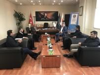 YEREL GAZETE - Yerel Gazete Temsilcilerinden Başkan Takva'ya Ziyaret