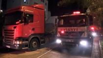 KÖPEK - Adana'da Kundaklanan Evdeki Kedi Ve Köpek Kurtarıldı