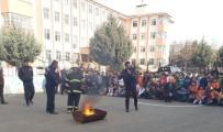 KAÇıŞ - Adıyaman Öğrenciler İlkokulunda Yangın Tatbikatı