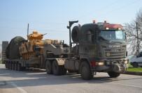 NARLıCA - Afrin Operasyonu Öncesi Sınırda Askeri Araç Hareketliliği