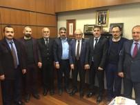 MUSTAFA UĞURLU - AK Parti Suşehri İlçe Teşkilatından Ankara Ziyareti