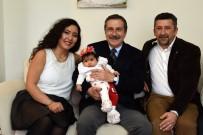 Başkan Ataç Bebek Ziyaretlerine Devam Ediyor