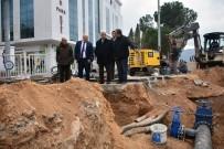 SICAK ASFALT - Başkan Gürün, İçme Suyu Çalışmalarını İnceledi