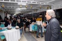 İŞ MAKİNESİ - Başkan Şahin, Belediye Personeliyle Yemekte Buluştu