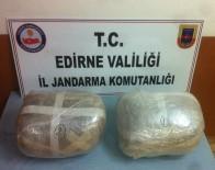 EDİRNE - Bulgaristan Plakalı Araçta Uyuşturucu Madde Ele Geçirildi