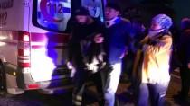 ORGANİZE SANAYİ BÖLGESİ - Bursa'da işçi servisi park halindeki kamyona çarptı: 12 yaralı