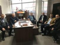 TAZİYE ZİYARETİ - Çetinbaş Ve Nazlı'dan Mücahit Köksal'a Taziye Ziyareti