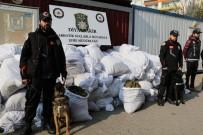 İHBAR HATTI - Diyarbakır'da 1 Ton 38 Kilogram Uyuşturucu Ele Geçirildi