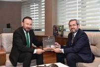MEDENİYETLER - Doğan'a 'Gazi Mecliste O Gece' Kitabı Hediye Edildi