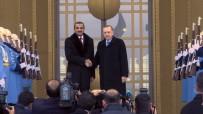 KATAR EMIRI - Erdoğan, Katar Emiri İle Bir Araya Geldi