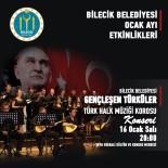 'Gençleşen Türküler Türk Halk Müziği' Konseri