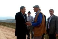 MECLIS BAŞKANı - Gerger İlçesinde Yollar Düzenleniyor