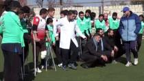 İDLIB - İdlib'de Savaş Mağdurlarından Ampute Futbol Maçı
