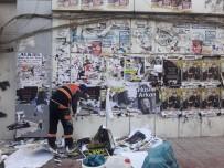 İPEKYOLU - İpekyolu Belediyesinden Duvarları Güzelleştirme Çalışması