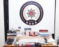 Kaçak Sigara Operasyonu Açıklaması 3 Gözaltı