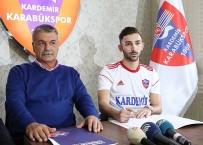 BEŞİKTAŞ - Karabükspor, Ahmet Karadayı İle 3.5 Yıllık Sözleşme İmzaladı