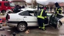Karaman'da Trafik Kazası Açıklaması 1 Ölü, 6 Yaralı