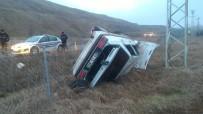 Otomobil Şarampole Uçtu Açıklaması 1 Yaralı