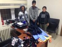 Çocuk Hırsızları Güvenlik Kamerası Ele Verdi