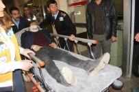 ORGANİZE SANAYİ BÖLGESİ - Şanlıurfa'da Trafik Kazası Açıklaması 1 Ölü, 4 Yaralı