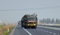 VİRANŞEHİR - Sınıra Yapılan Askeri Sevkiyat Kızıltepe'ye Ulaştı