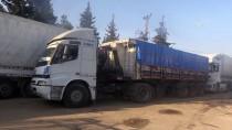 TÜRK KıZıLAYı - Suriyelilere Yardım Malzemesi Gönderildi