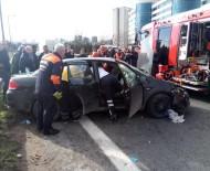 SAĞLIK EKİBİ - TEM Otoyolunda Kararsızlık Faciaya Neden Oldu Açıklaması 2 Ölü 1 Yaralı