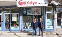 DENIZ PIŞKIN - Tosya Kaymakamı Pişkin, Türkiye Gazetesi Temsilciliğini Ziyaret Etti