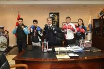 YUSUF ASLAN - Turgutlulu Kick Boks Sporcuları Başarıyla Döndü