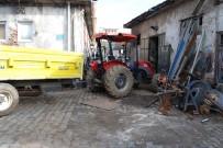 Üzerine Çıkmadan Çalıştırdığı Traktörün Altında Kaldı
