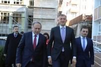 SARP SINIR KAPISI - Acara Özerk Cumhuriyeti Hükümet Başkanı Pataradze, Artvin'de
